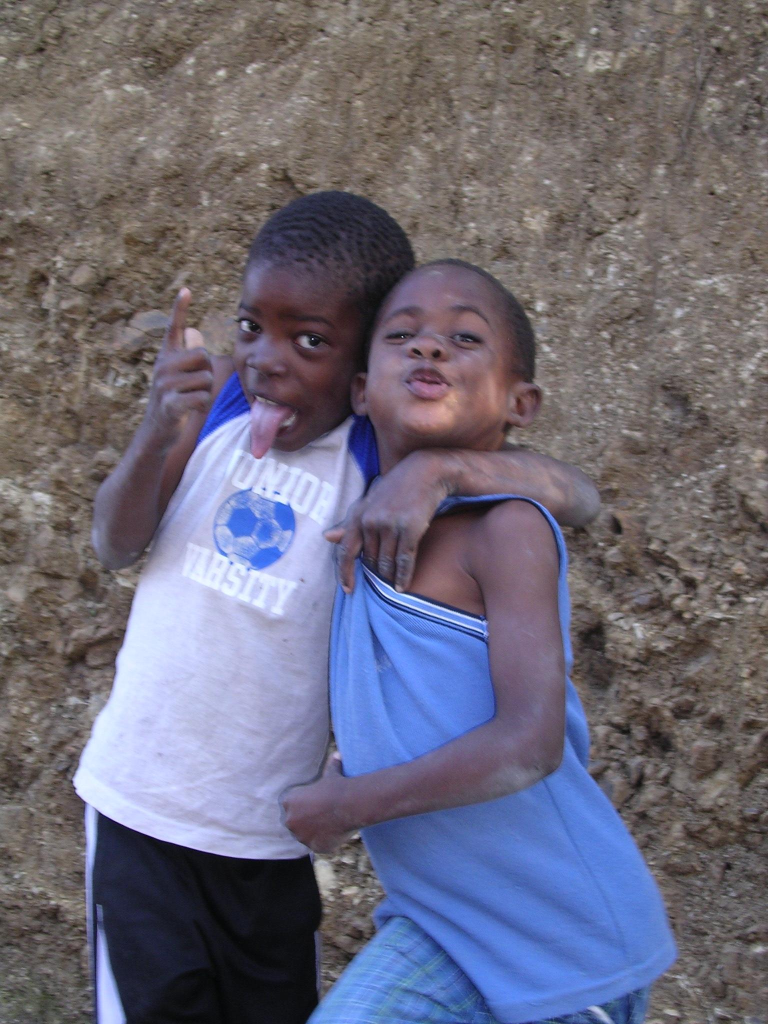 Haitian boys