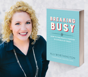 Book Giveaway: Breaking Busy