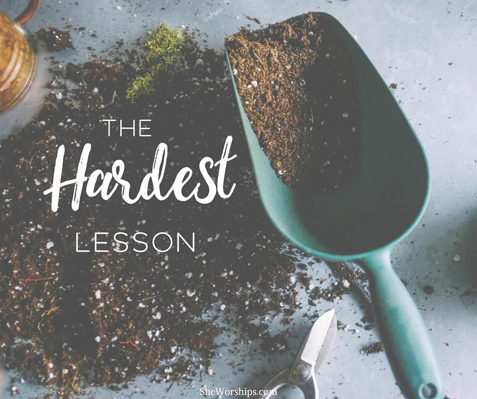 The Hardest Lesson-3