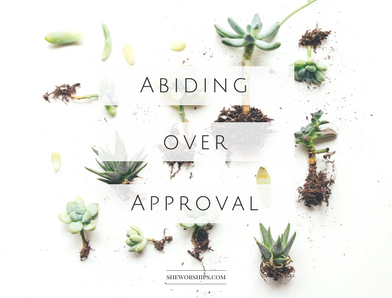 Abiding Over Approval